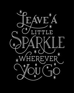 cute sparkle quote